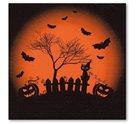 Stil Ubrousky 33 x 33 dekorativní - Halloween