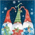 Stil Ubrousky 33 x 33 Vánoce - vánoční skřítci