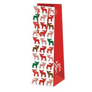 Vánoční dárková taška 10,5 × 36 × 10 cm - Los