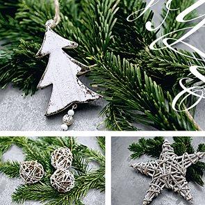 Vánoční ubrousky 33 x 33 cm, 20 ks - Vánoce