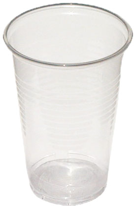 Kelímky 500 ml - plastové transparentní (50 ks)