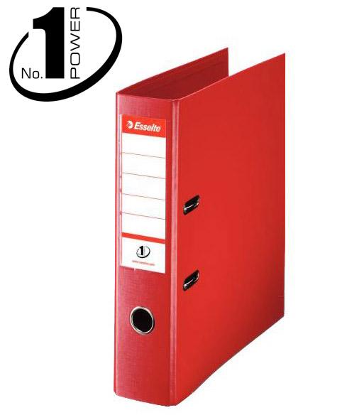 Esselte Pořadač pákový No. 1 POWER A4 7,5cm - červený