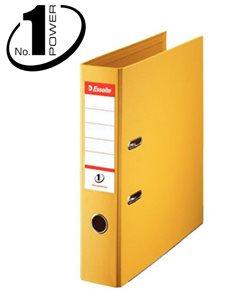 Esselte Pořadač pákový No. 1 POWER A4 7,5cm - žlutý