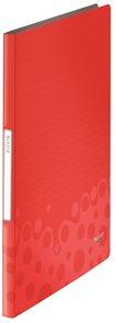 Leitz Katalogová kniha 20 listů  BEBOP - červená