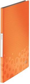 Leitz Katalogová kniha 20 listů BEBOP - oranžová
