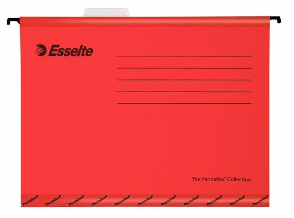 Esselte Závěsné desky Pendaflex - červené