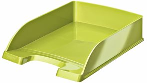 Leitz WOW Kancelářský odkladač - metalická zelená