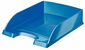Leitz Odkladač WOW Plus - perleťový modrý