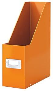 Leitz WOW Stojan na časopisy Leitz Click & Store - oranžový