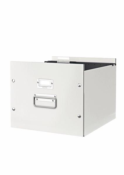 Leitz WOW Krabice na závěsné desky - bílá