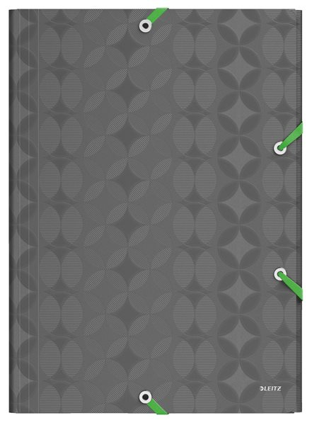 Leitz RETRO CHIC desky na spisy PP A4 - tmavě šedá