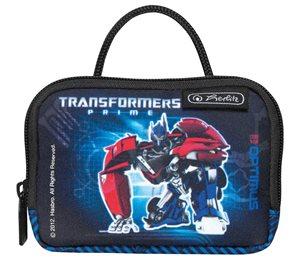 Taštička na krk velká Transformers - černá
