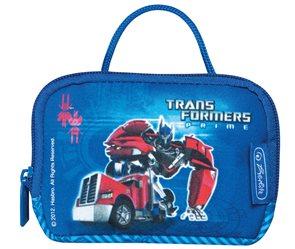 Taštička na krk velká Transformers - modrá