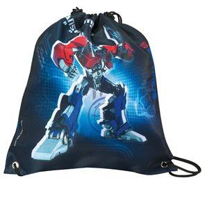 Sáček na cvičky Transformers - černý