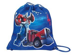 Sáček na cvičky Transformers - modrý