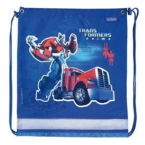 Sáček na cvičky - Transformers Optimus Prime - modrá
