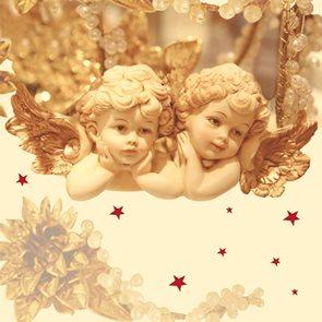 Ubrousky 33 x 33 - Romantic angels
