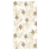 Ubrus papírový vánoční 120 x 180 cm - smetanový