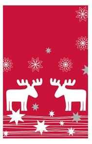 Ubrus papírový vánoční 80 x 80 cm - Elmar