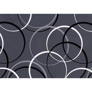 Dárkový papír 2 m x 70 cm - Kruhy