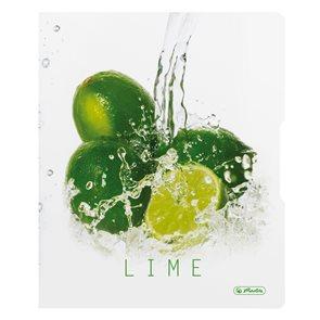 Herlitz Pořadač Fresh fruit A4/3cm 2-kr PP - Limeta