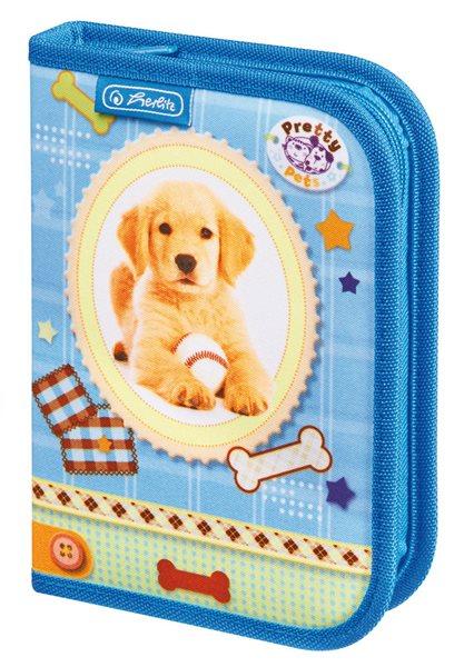 Školní penál Pretty Pets - Pes, Sleva 15%