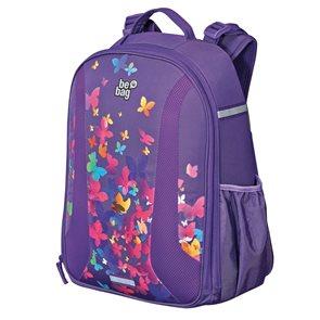 Školní batoh be. bag airgo - Motýl fialový