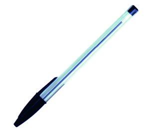 Victoria Jednorázové kuličkové pero - černé