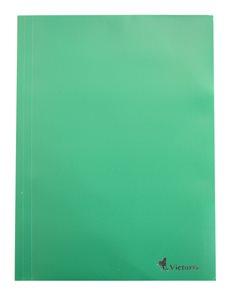 Victoria Desky s gumou PP 3 klopy A4 - zelené