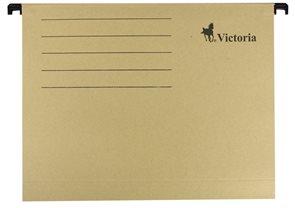 Victoria Závěsné zakládací desky A4 - béžové