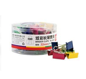 Deli Klip Binder 32 mm - barevný
