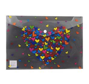 Desky s drukem A4 - Srdce