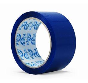 Lepící páska barevná 48x66 mm - modrá
