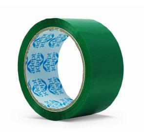 Lepící páska barevná 48x66 mm - zelená