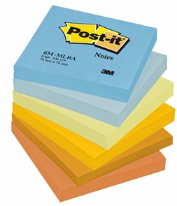 Post-it Samolepící bločky 76 x 76 mm - Harmonické barvy