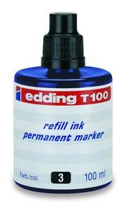 Edding Náhradní náplň pro popisovače T100 - modrá