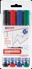Edding 360 Popisovač na bílé tabule - sada 4 barev
