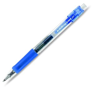Edding 2190 Gelový roller - modrý