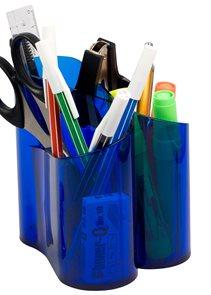 ICO Držák na psací potřeby LUX - modrý