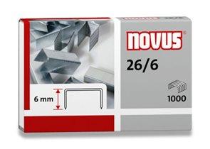 NOVUS Drátky do sešívačky 26/6 - 1000 ks