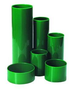 CONCORDE Plastový stojánek 6-dílný kulatý - zelený