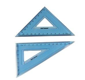 Sada ohebných trojúhelníků 2ks - modrá