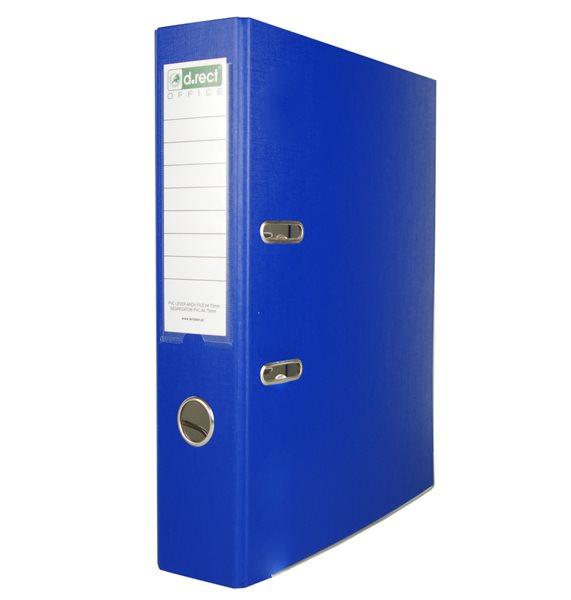Office Pákový pořadač PVC 5cm - modrý