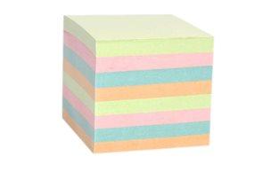 Špalíček nelepený 85x85x75mm - mix barev