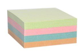 Špalíček lepený 85x85x40mm - mix barev