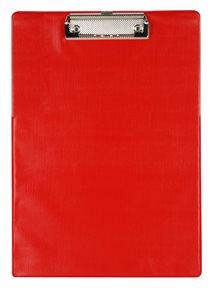 Office Jednodeska s klipem A4 - červená