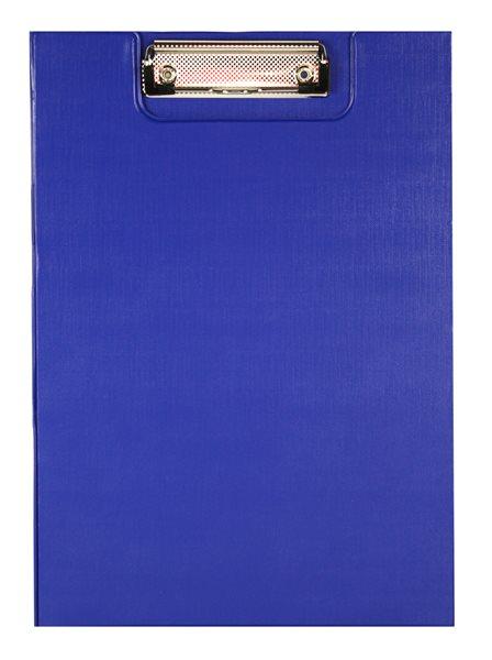 Office Psací podložka s klipem A4 - modrá