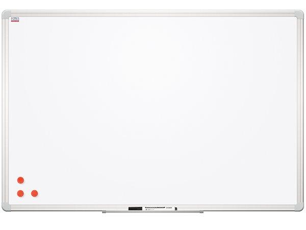 Tabule bílá magnetická s lakovaným povrchem 120 x 240 cm, Doprava zdarma