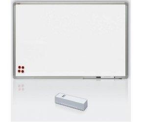 Tabule bílá magnetická s keramickým povrchem - 120 x 180 cm, Doprava zdarma