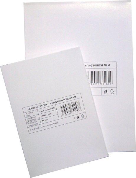 Laminovací fólie - kapsy A5, 80 mic (100 ks), Sleva 34%